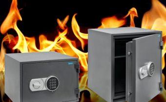 Caixes fortes ignífugues: Són les ideals per guardar documents en llocs que puguin aquestes mes exposats al foc i a unes temperatures molt elevades.