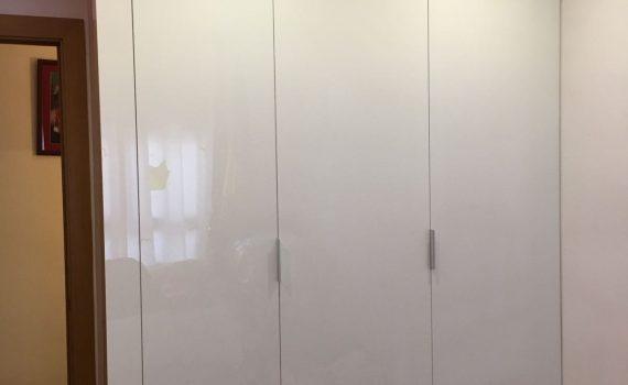 Armaris encastats amb portes corredisses i/o practicables, amb DM per pintar o amb contraxapat de qualsevol fusta amb melanina blanc brillo. Calaixeres de melamina o contraxapades a mida. Mobles a mida per lavabos, amb melamina o fòrmica. Mobles especials, estants, miralls, altells. Servei urgent en reparacions: Portes, mobles, finestres de fusta. Mobles de cuina. Revestiments per parets amb plaques de PVC o xapades amb fusta